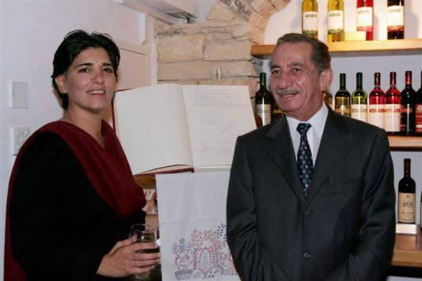 Anastasia Guy Cyprus Wine Museum