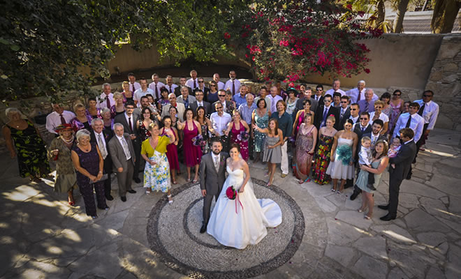 Wine Museum Courtyard Wedding