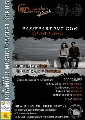 Concert Cyprus Orchestra Commandaria
